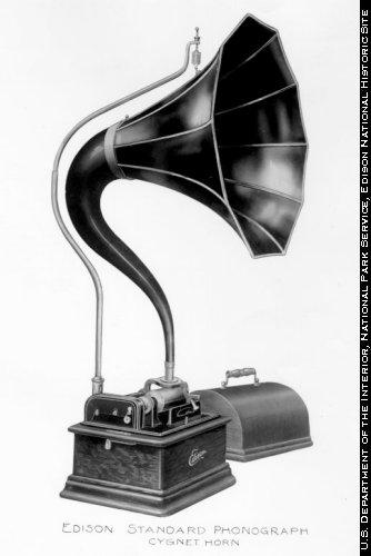 Модель фонографа Эдисона