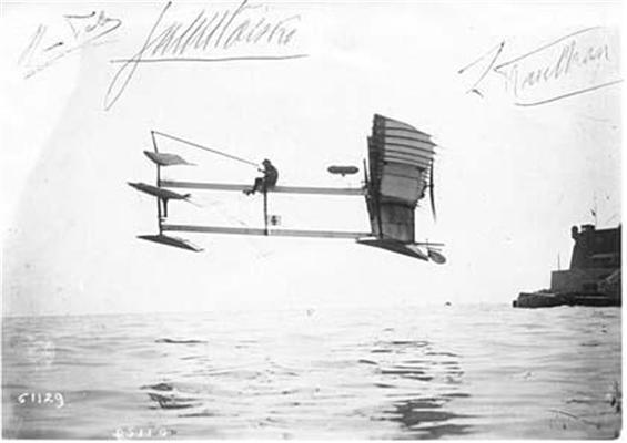 Первый гидроплан (1911 г.)