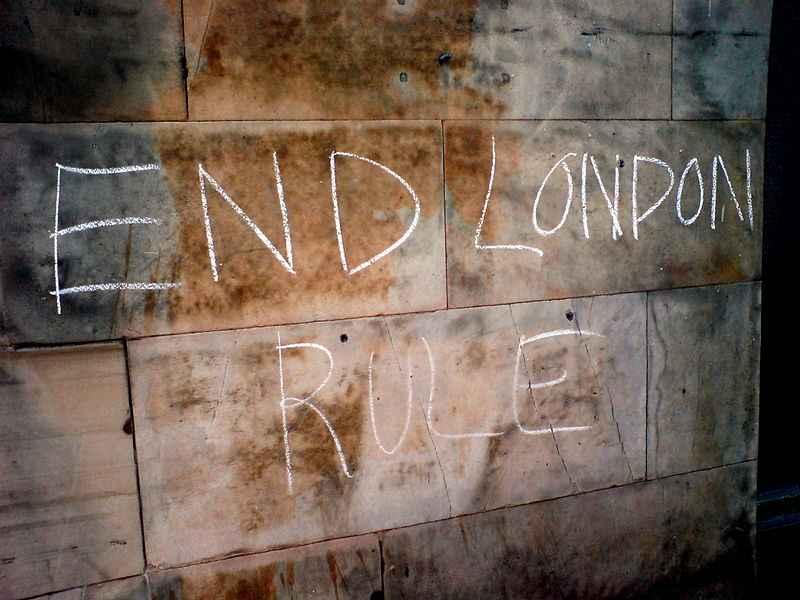 конец лондону