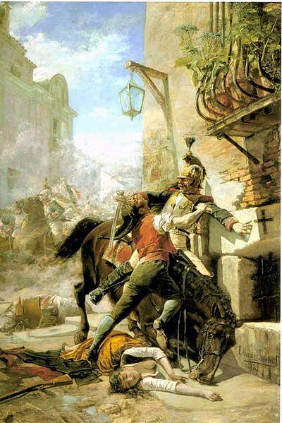 Не только русские воевали с Бонапартом.