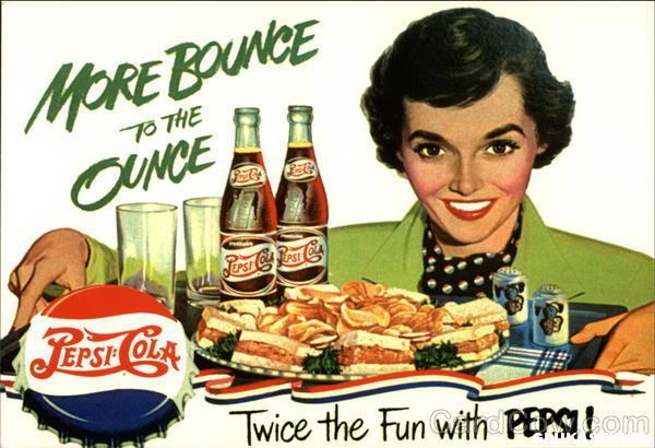 Ретро-реклама Pepsi