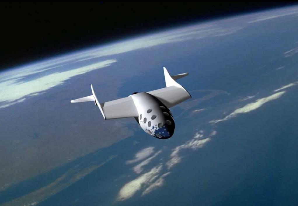 Первый в истории человечества полёт частного космического корабля «SpaceShipOne».