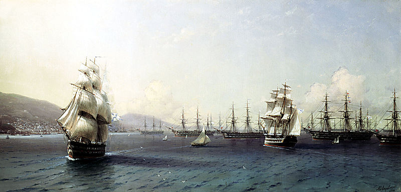 800px-Aivazovsky_-_Black_Sea_Fleet_in_the_Bay_of_Theodosia