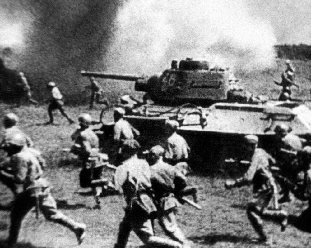 Величайшее в мире танковое сражение под Прохоровкой