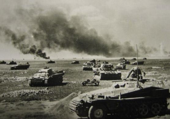 поле усеянное танками 435454