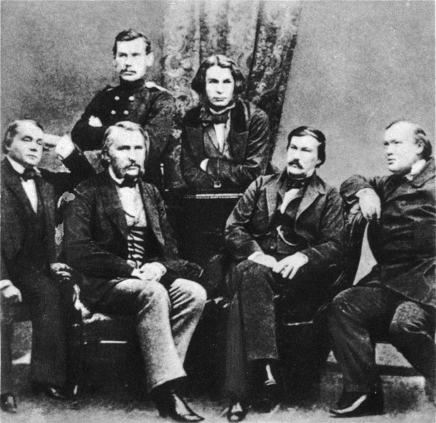 619px-Russian_writers_by_Levitsky_1856