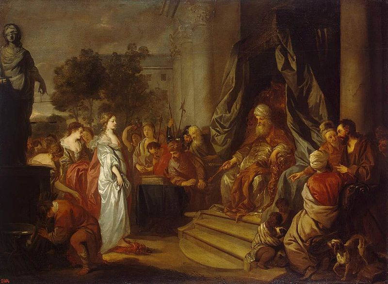 800px-Peter_Lely_-_Trial_by_Fire_-_WGA12649