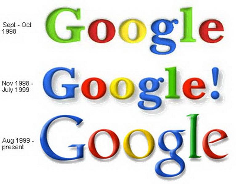 История развития компании Гугл («Google»).