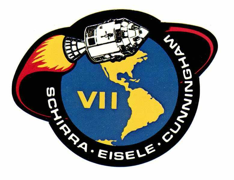 45 лет успешному завершению миссии «Аполлон-7» («Apollo 7»).