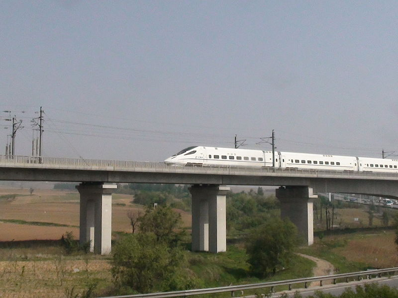 Китайская скоростная железная дорога – 10 лет прогресса.