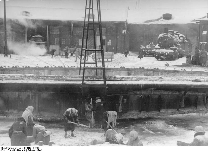 Minsk, Jüdische Zwangsarbeiter