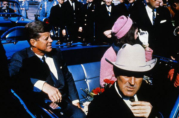 John Connally with Jackie and John F Kennedy