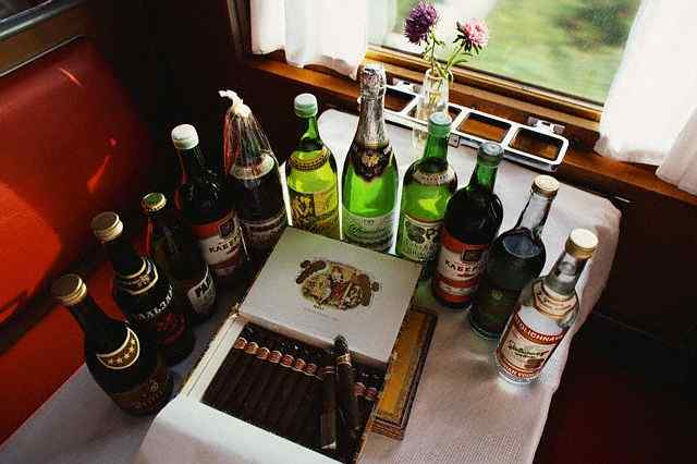 Drink Offerings on Trans Siberian Railroad