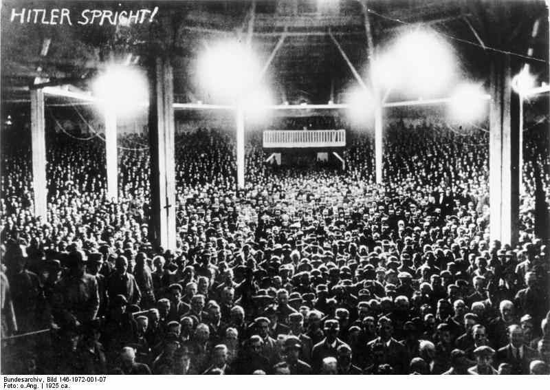 München, Zirkus Krone, Rede Hitler