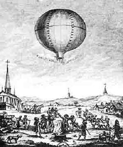 Воздушный шар «Монгольфьер» — 230 лет в воздухе.