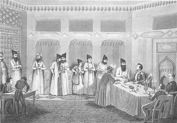 Гюлистанский и Туркманчайский мирные договоры.