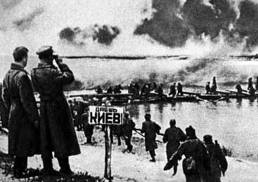 Киевская наступательная операция. День освобождения Киева — 6 ноября 1943 г.