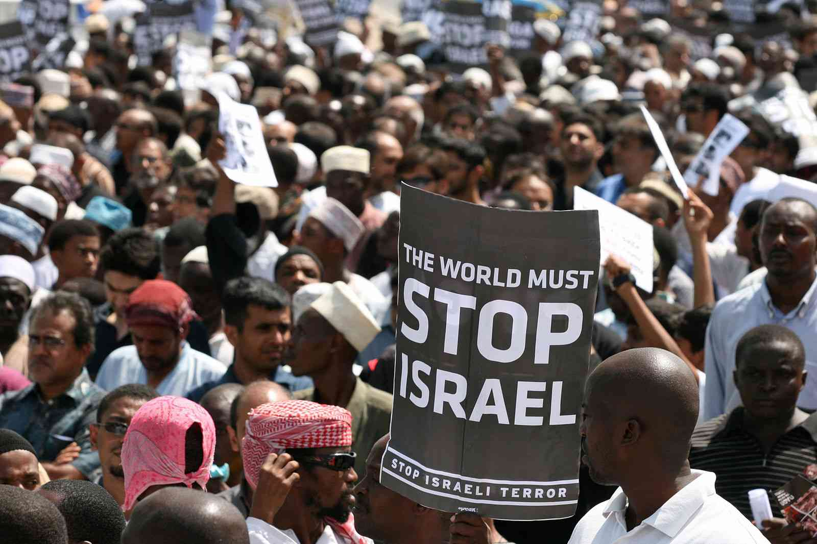 2009_Anti_Israel_Protest_Tanzania