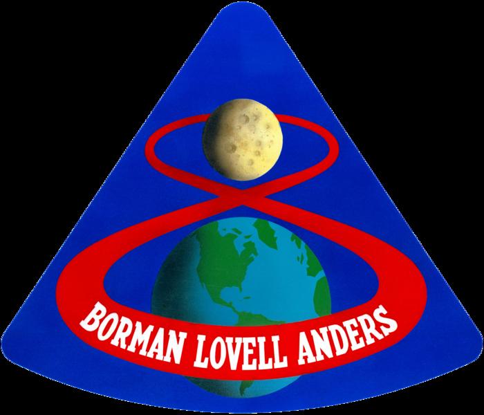 45 лет «Аполлон-8» — первый облёт людей вокруг Луны.