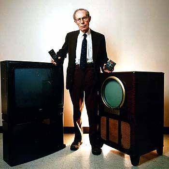 Роберт Адлер – изобретатель пульта дистанционного управления для телевизора.
