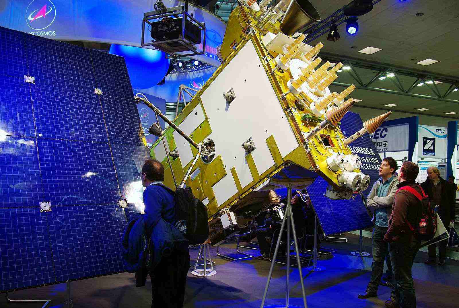 Russian_Navigation_Spacecraft_Glonass_K1_at_CeBIT