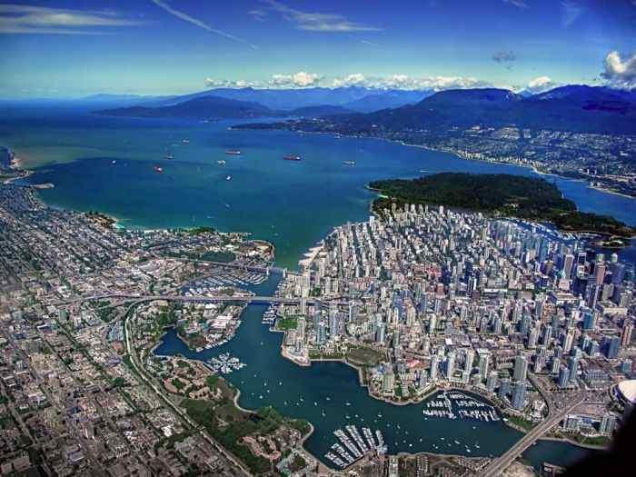 Канада. Город Ванкувер.