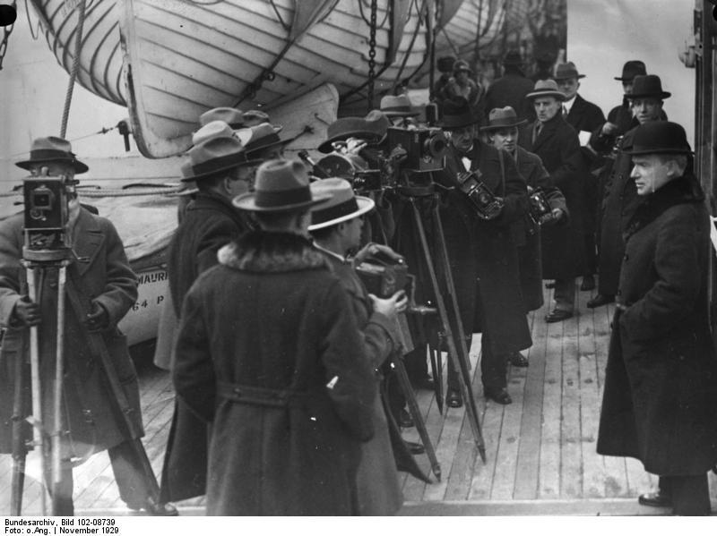 John D. Rockefeller auf dem Weg nach London