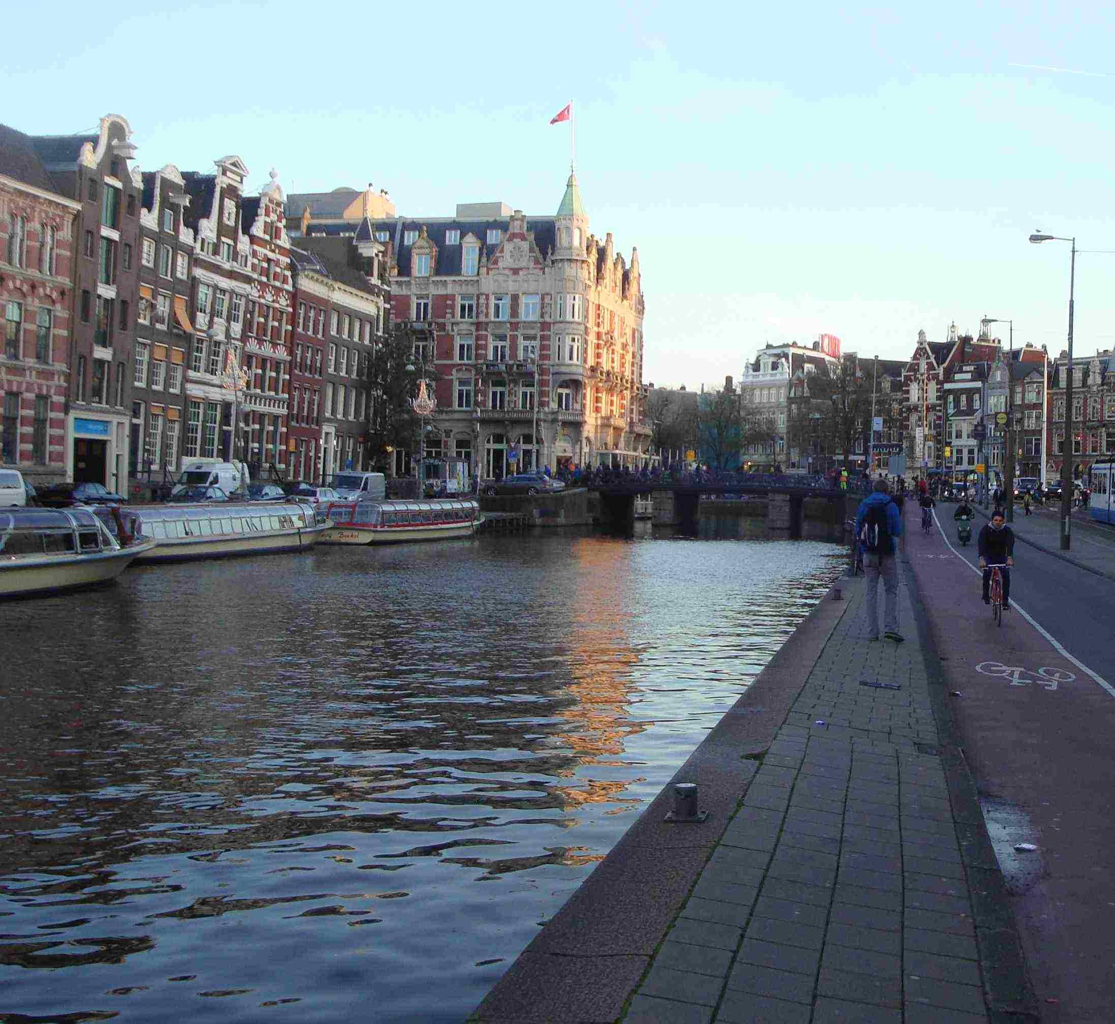 Прогулка по Амстердаму.
