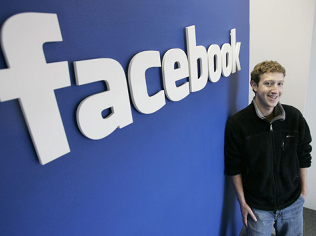 Facebook logo ve Mark Zukkerberq