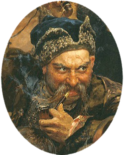 Ivan_Sirko_(Repin_Cossacks)_