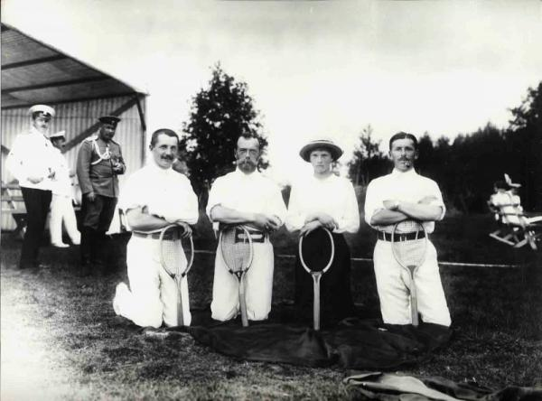Emperor_Nicholas_II_after_tennis_game,_1910