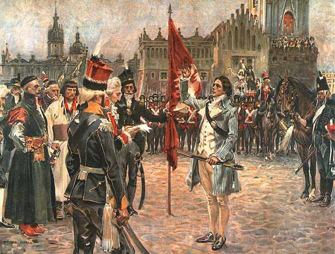 Восстание Тадеуша Костюшко 1794 г.