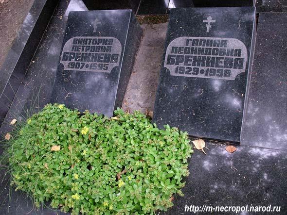 формула души могила Брежневой