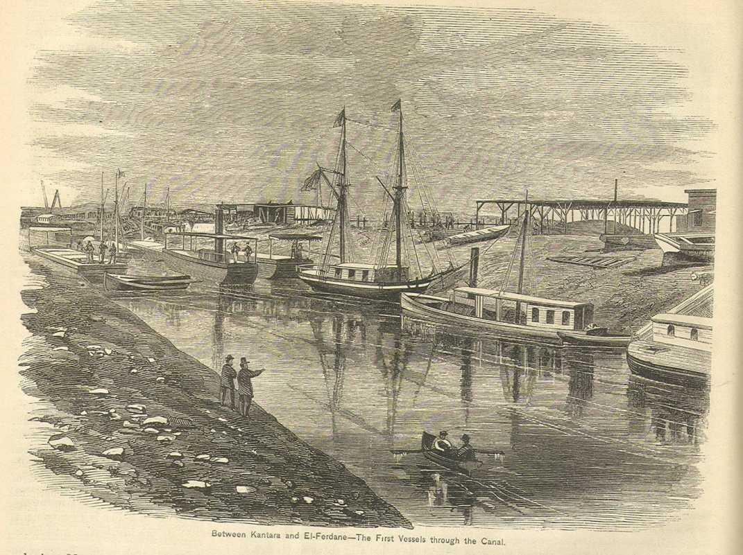История создания Суэцкого канала.