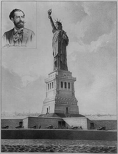 Фредерик Огюст Бартольди – автор Статуи Свободы.