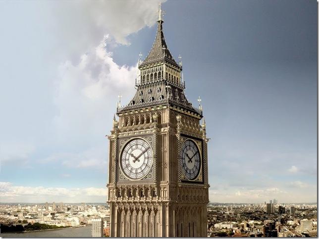 История создания легендарных часов Биг-Бен в Лондоне.