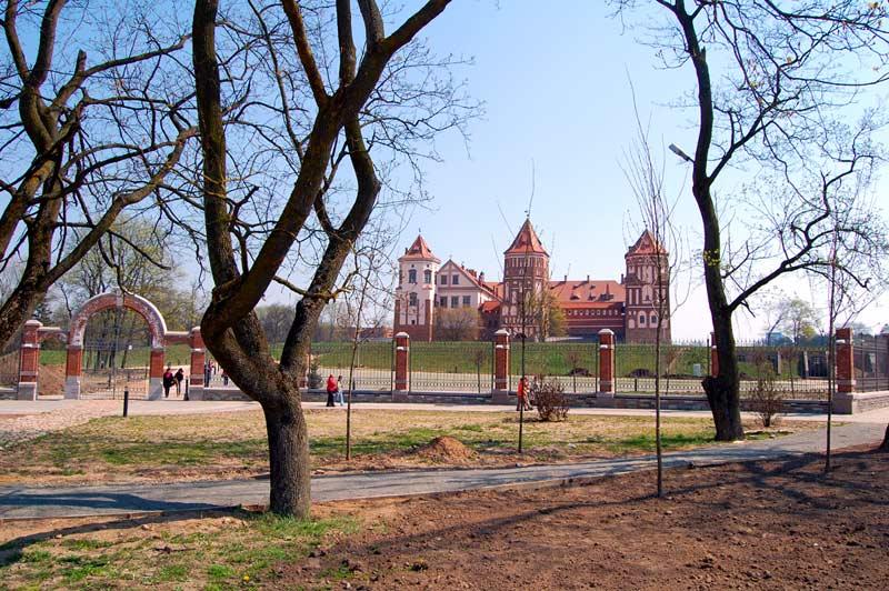 История Мирского замка в Беларуси. Фото Мирского замка внутри. Часть 1 из 3.