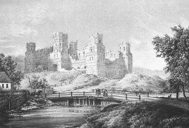 Мирский замок. Экскурсия по всем бывшим владельцам. Часть 2 из 3.