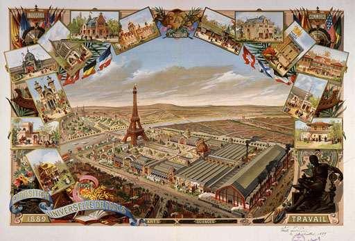 Всемирная выставка 1889 года в Париже.