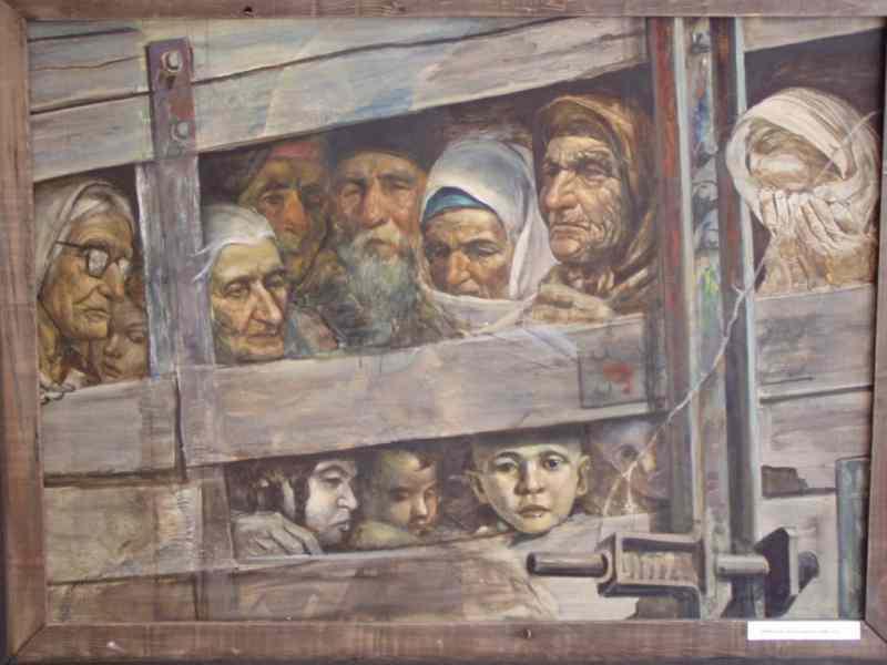 Сталинская депортация крымских татар 1944 года.