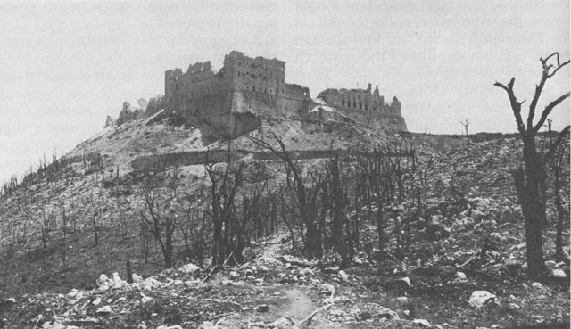 Битва при монастыре Монте Кассино 1944 года.