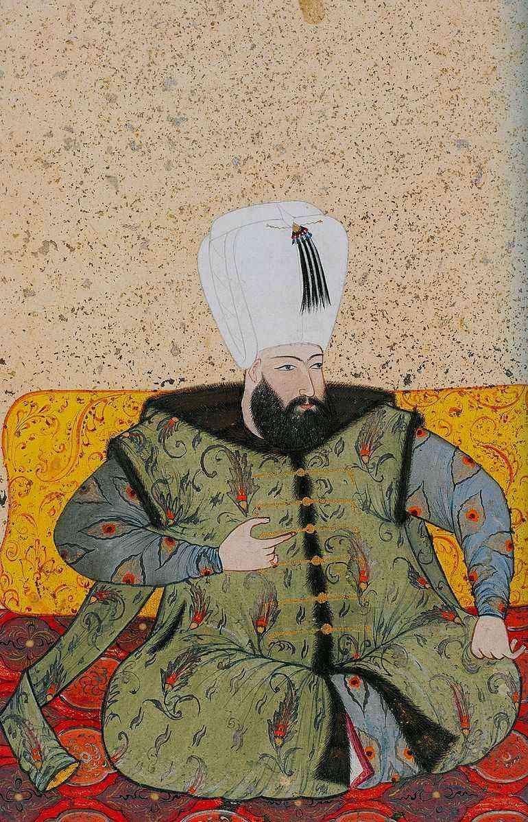Levni._Ottoman_Ahmed_I._1703._Topkapi_Saray_museum.