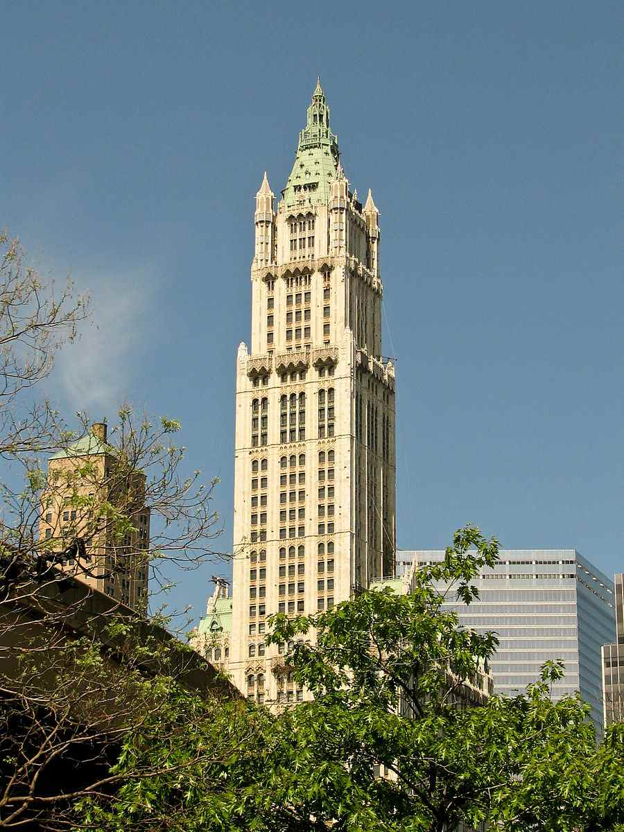 New_York_City_Woolworth_Building_07