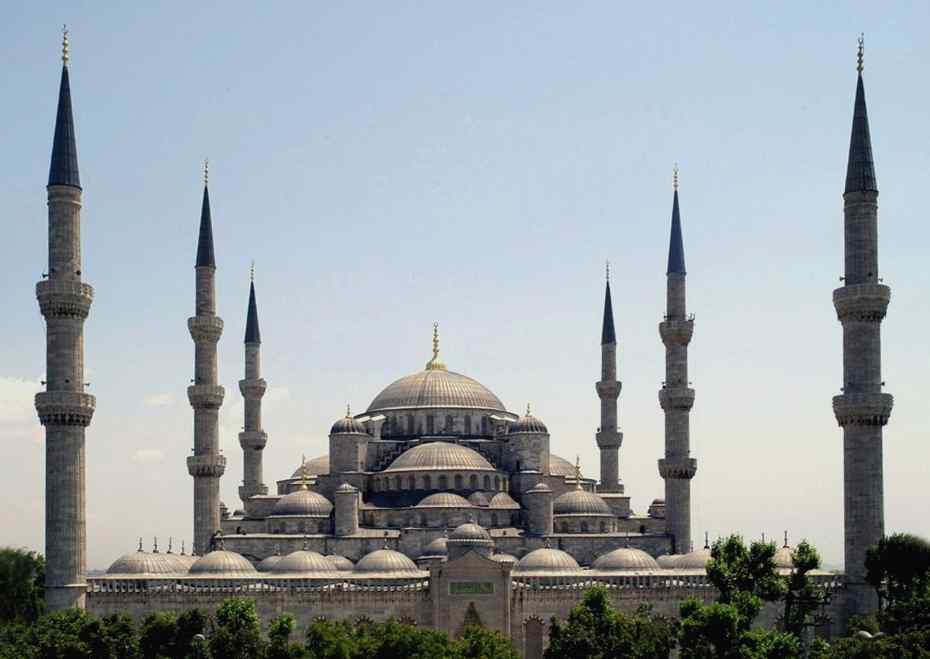 История Голубой мечети в Стамбуле (мечеть Султанахмет).