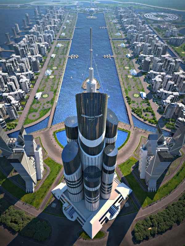 azerbaijan-tower