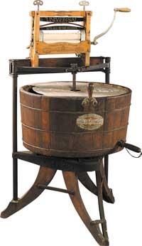 История развития стиральных машин.