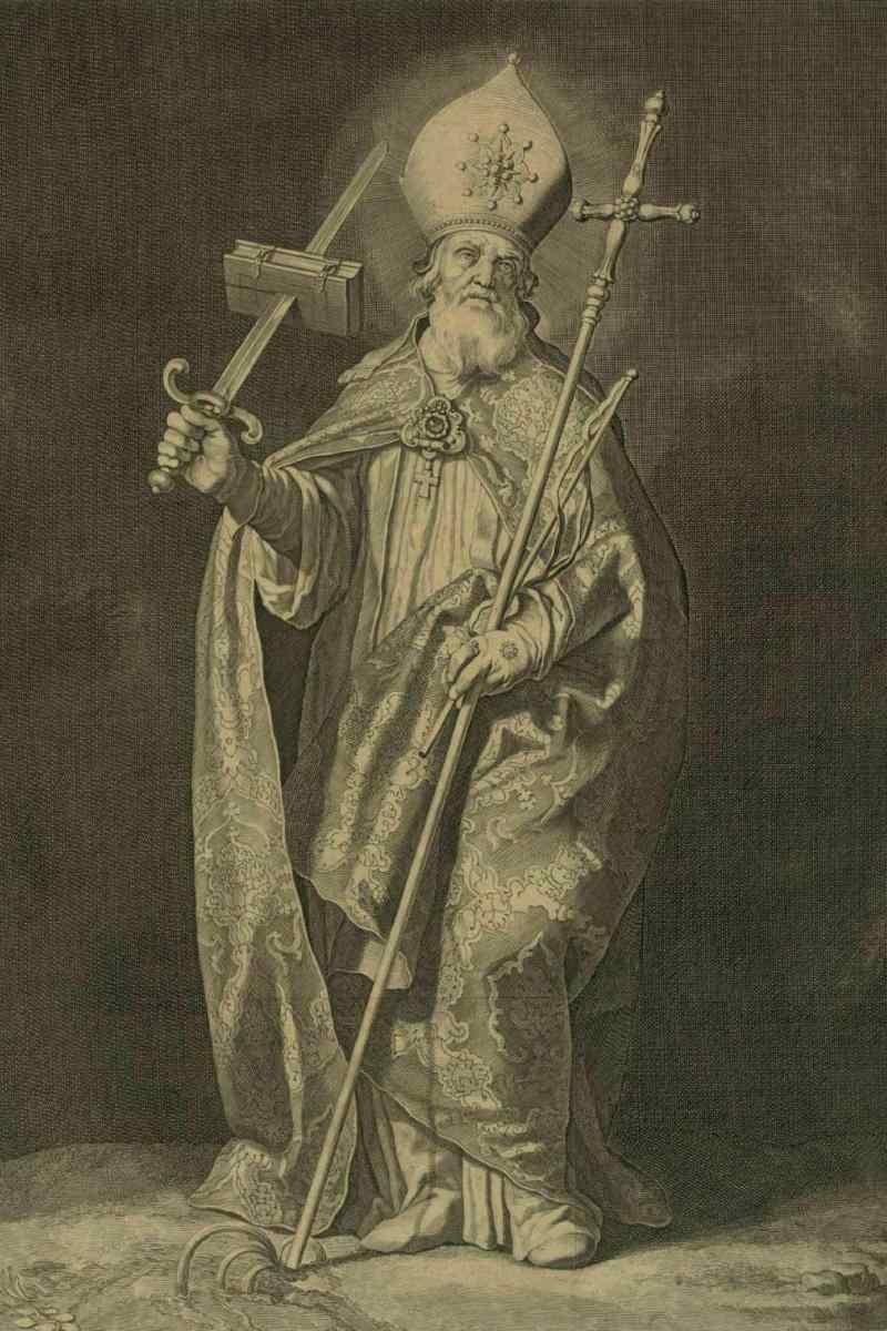 Святой Бонифаций — «апостол всех немцев».
